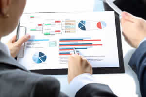 Image showing a project manager in the auditing industry