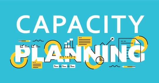Resource capacity planning banner image.