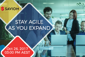 Webinar: Stay Agile As You Expand