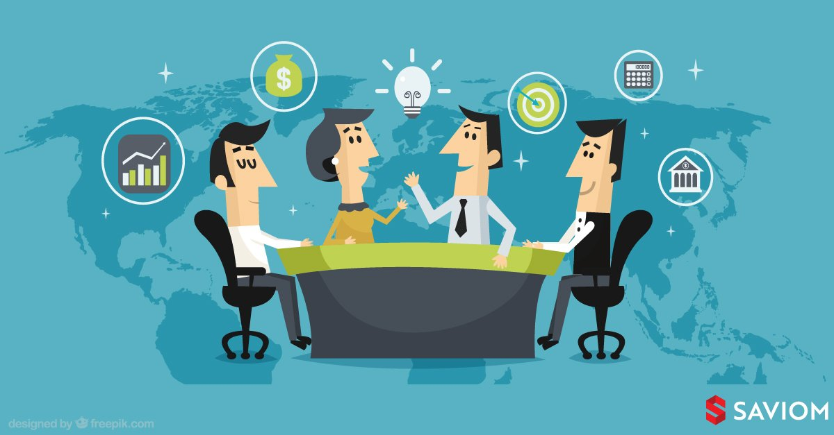 An image showing a team discussing on the benefits of having a project portfolio management strategy.