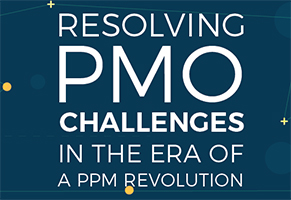 eBook - Resolving PMO challenges in the era of PPM Revolution