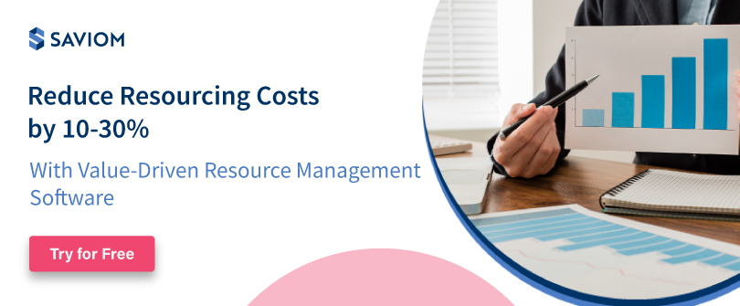 Reduce Resourcing Costs by 10-30%