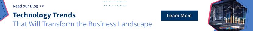 technology trends transforming business landscape