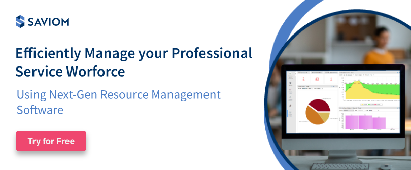 Efficiently Manage your Professional Service Worforce