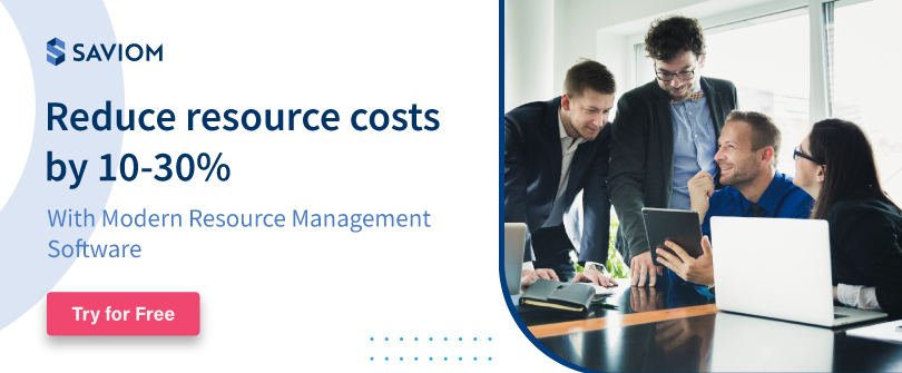 Reduce resource costs by 10-30%