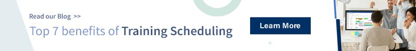 Top 7 benefits of Training Scheduling
