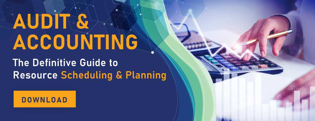 Audit & Accounting: The Definitive Guide to Resource Scheduling and Planning